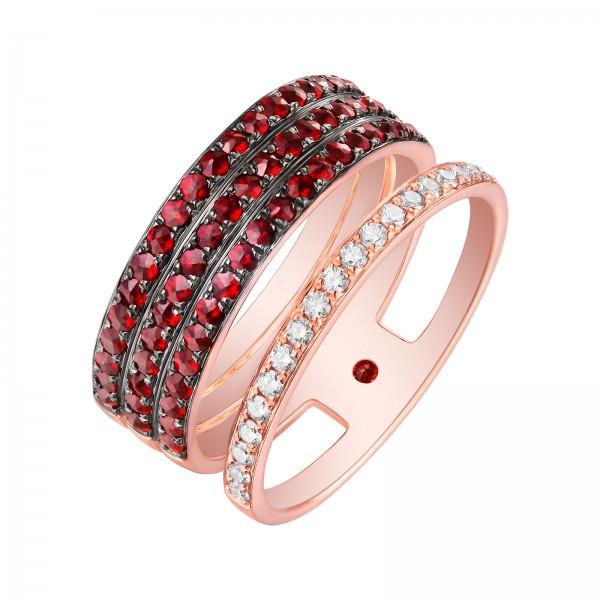 Leal - Wollem Garnet Ring