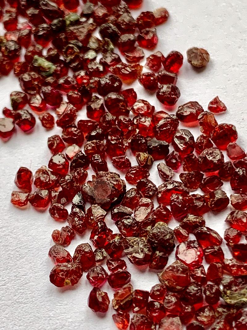 Czech Garnet Stones