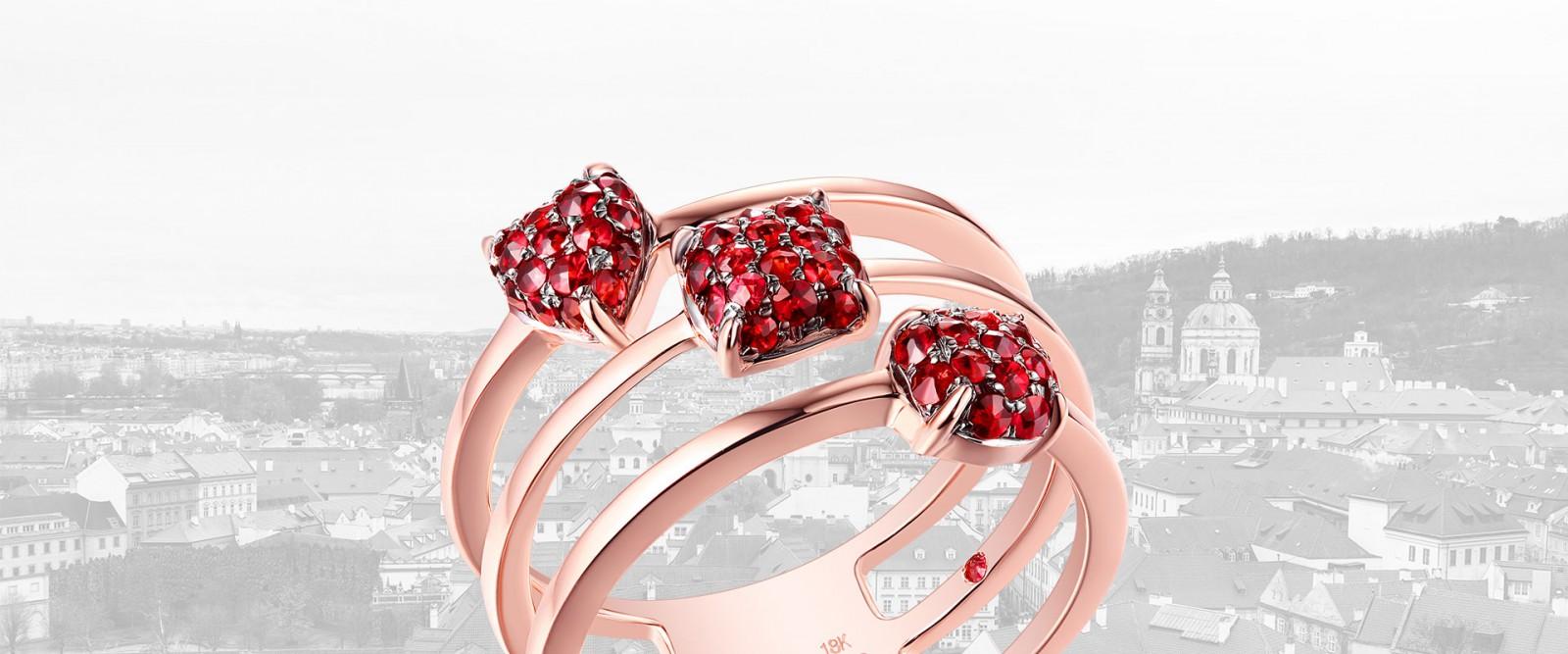 Where to buy Garnet Jewelry in Prague?