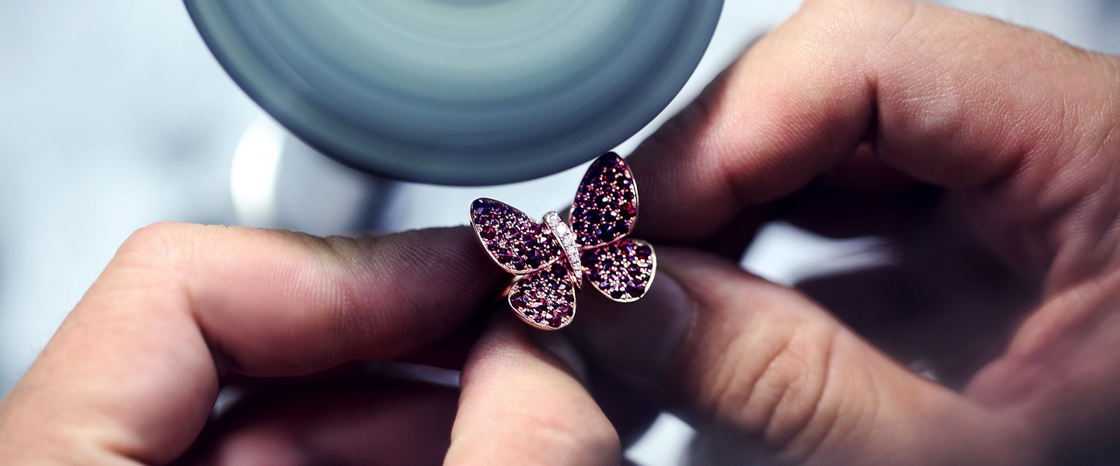 Perfect jewelry polishing and final touches